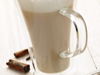chai tea latte mix in a mug