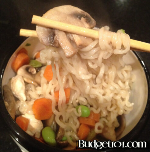 oodles of noodles in less than 15 minutes