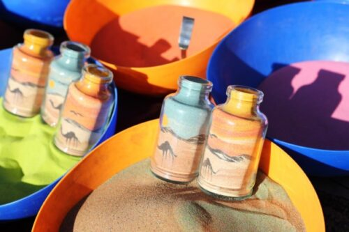 myo colored sand
