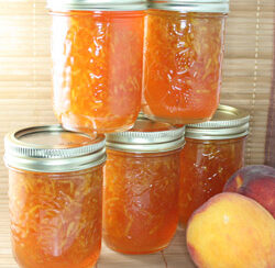 make your own harvest peach jam