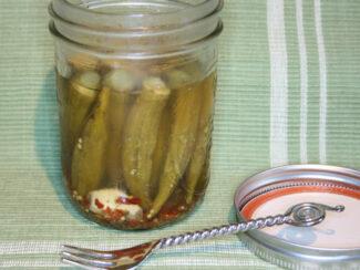 myo pickled okra