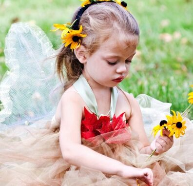 flower fairy costume
