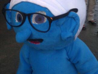 smurf costume idea
