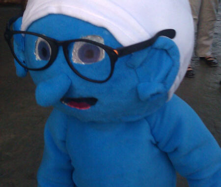 smurf costume idea