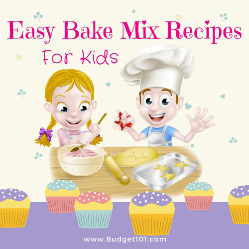 homemade easy bake oven mix recipes