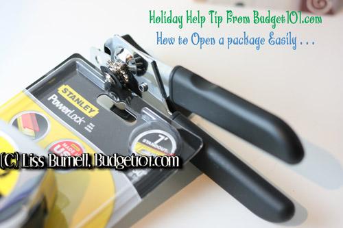 tips n tricks opening plastic packaging easily