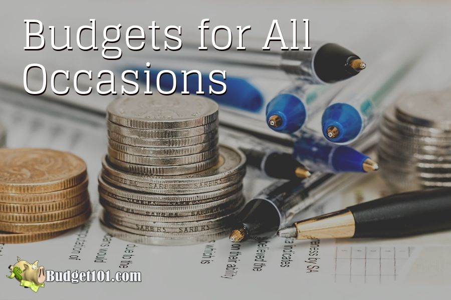 budgets for all occasions