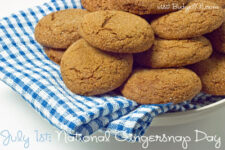 july 1st national gingersnap day