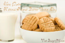 june 12th national peanut butter cookie day