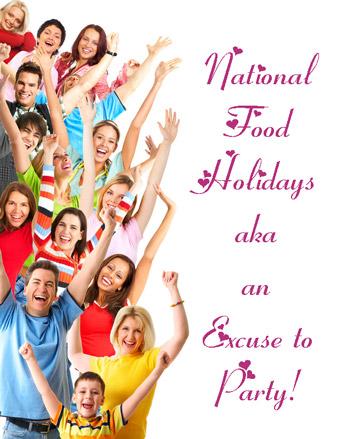 us national food holidays