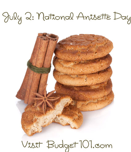 july 2nd national anisette day