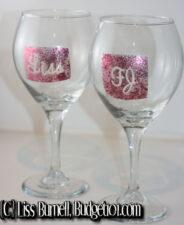 personalized wine champagne glasses