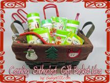 canning enthusiast gift basket idea