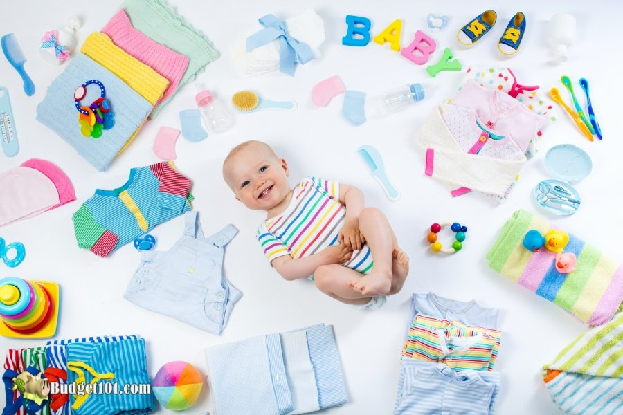 7 Ways to Save on Baby Expenses - Baby stuff