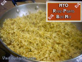 better than the box rice dish