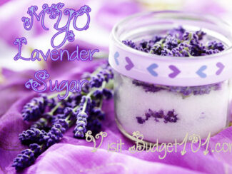 lavender or rose sugar