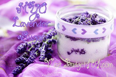 lavender or rose sugar