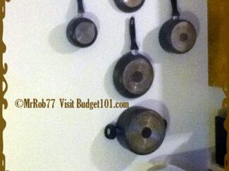 pot and pans space saver