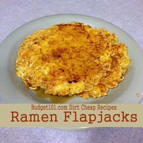 ramen flapjacks