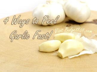 tips for peeling garlic