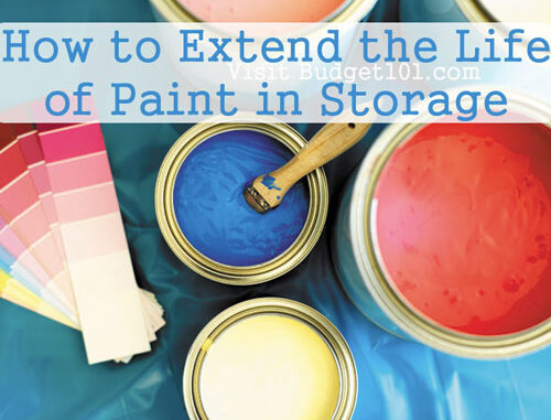 tips n tricks for extending paint life during storage