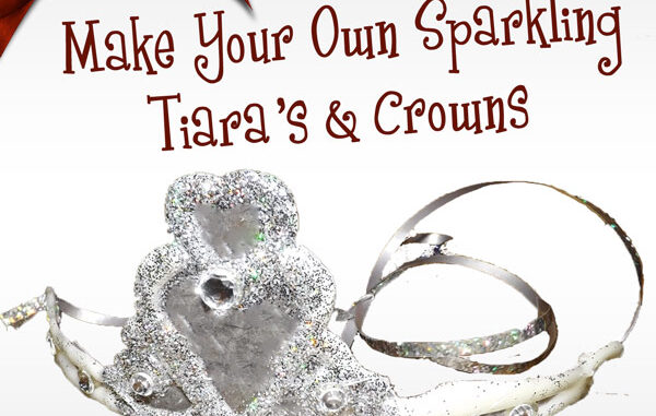 hot glue tiaras and crowns