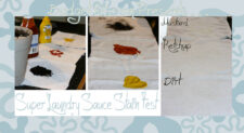 super laundry sauce stain test