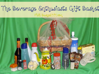 beverage enthusiasts gift basket