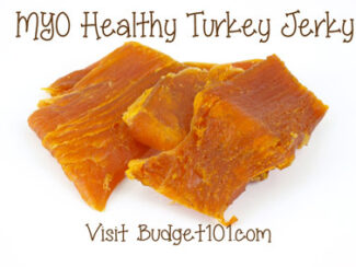 make your own turkey jerky