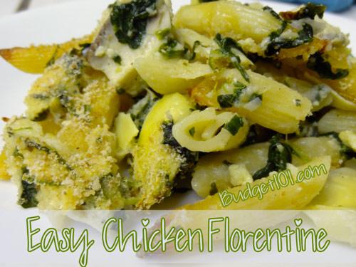 chicken-florentine-pasta-bake