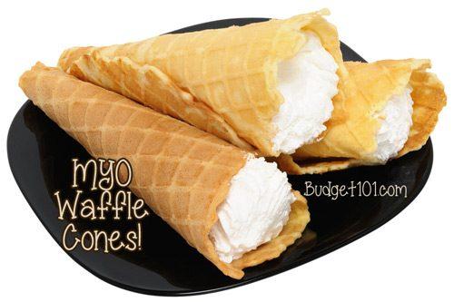 myo waffle cones