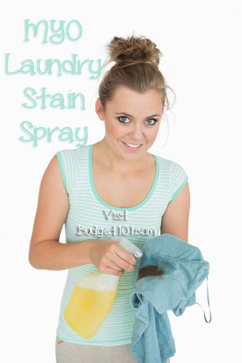 pre wash laundry spray