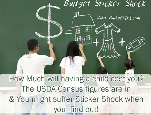 sticker shock cost of raising a child