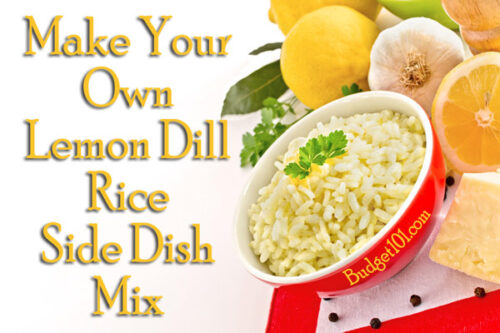 dill lemon rice mix