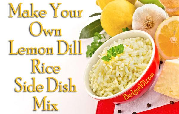 dill lemon rice mix