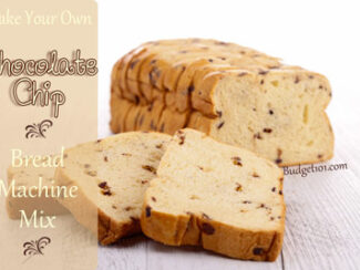 chocolate chip bread machine mix
