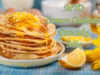 lemon oatmeal pancake mix