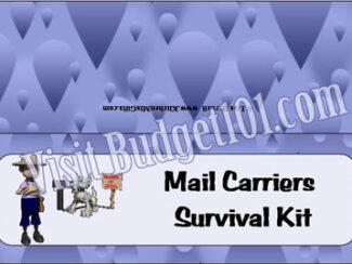 mail carrier survival kit