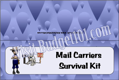 mail carrier survival kit