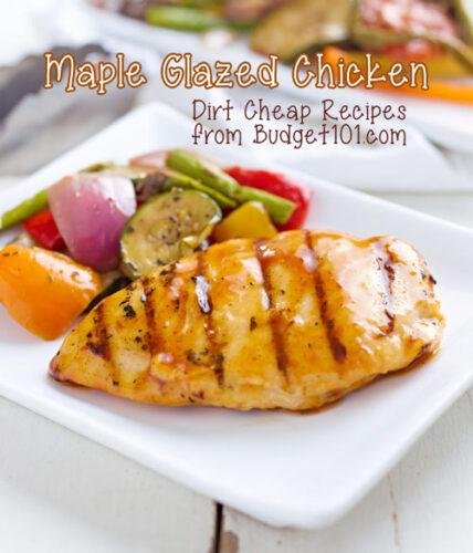 maple glazed chicken