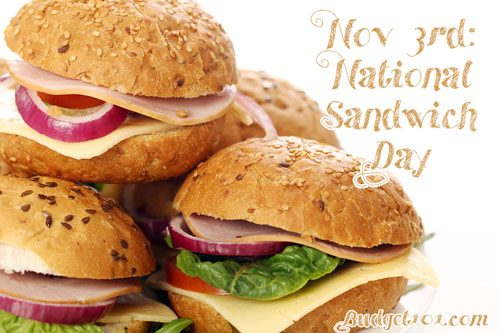 november 3rd national sandwich day