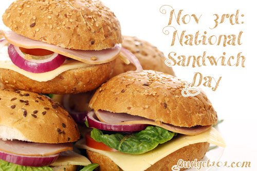 november 3rd national sandwich day