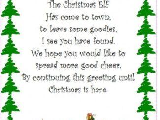 christmas elf flyer