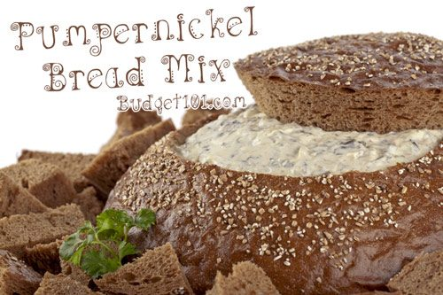 pumpernickel bread mix recipe