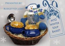 winter soup gift basket