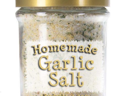 make your own garlic salt