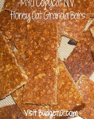 honey crunch granola bars