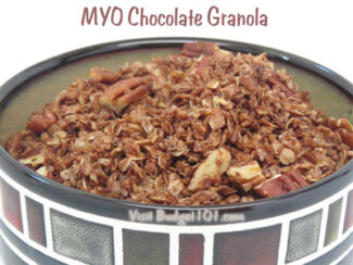 myo chocolate granola