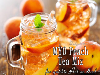 peach tea mix