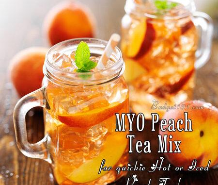 peach tea mix